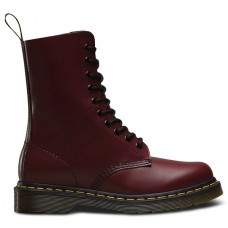 Dr. Martens 1490 Smooth Cherry Red - Winter Boots