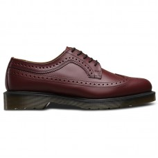 Dr.Martens 3989 Cherry Red Smooth Brogues - Casual Shoes