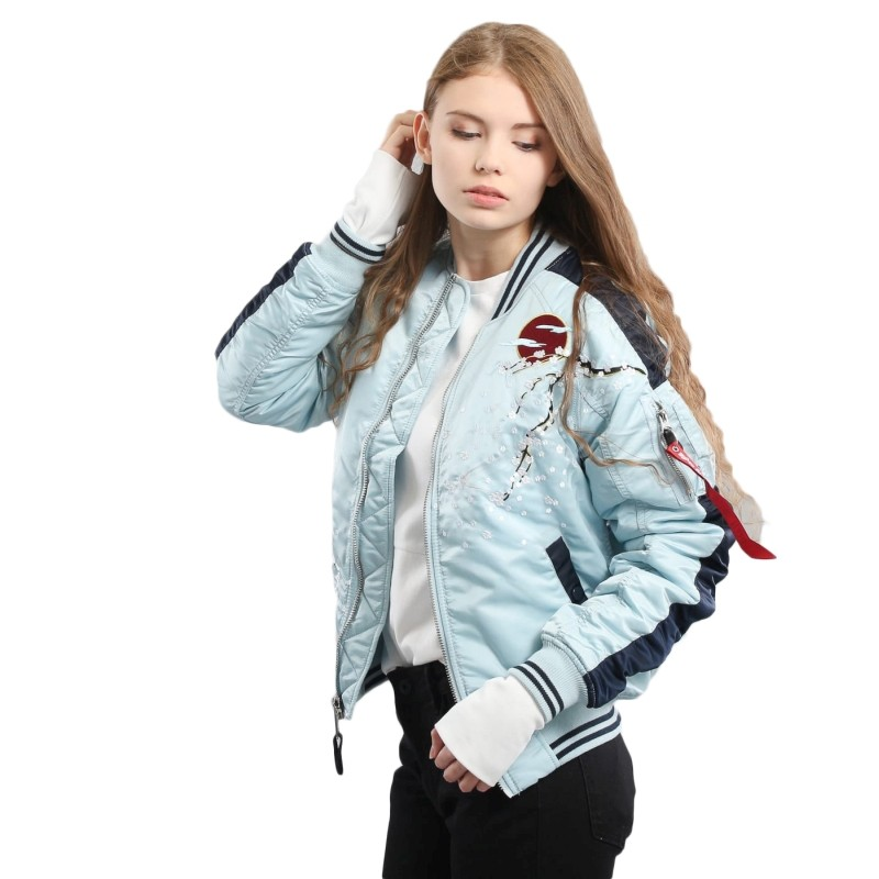 outlet for sale latest style of 2019 official Jackets - Alpha Industries Wmns MA-1 Souvenir Bomber Jacket