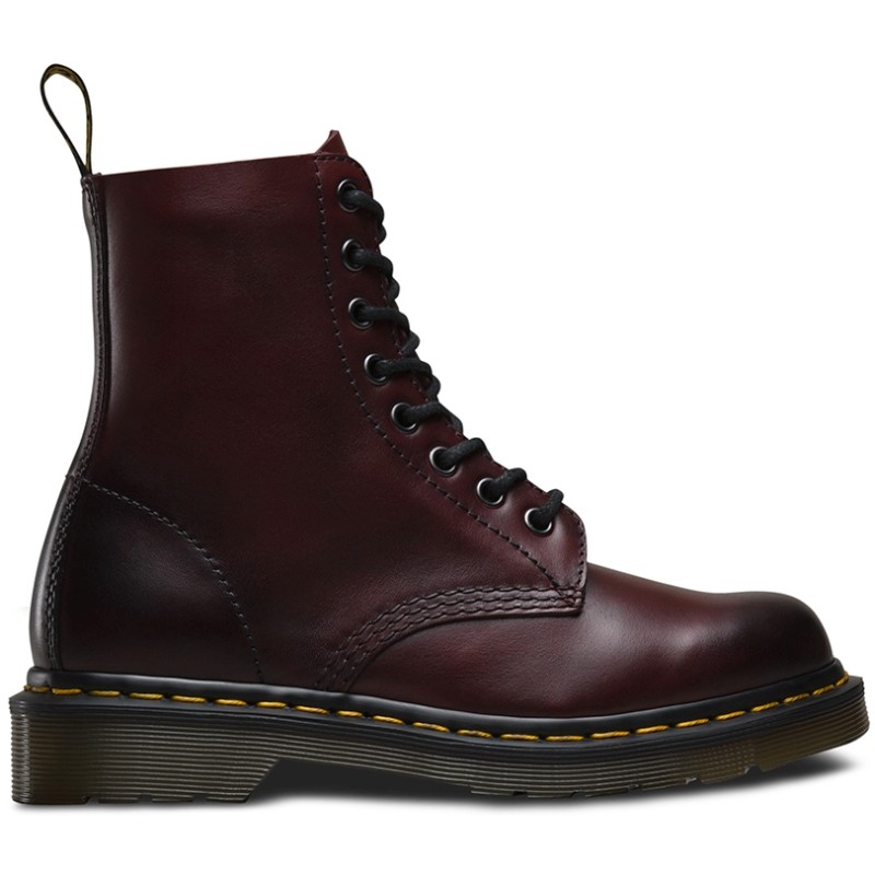 Dr. Martens 1460 Pascal Antique Temperley Cherry Red - Winter Boots
