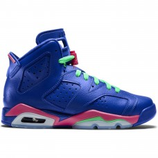 Air Jordan VI 6 Retro GG Game Royal Blue Pink - Casual Shoes