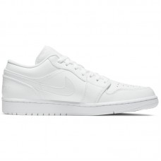 Jordan 1 Low All White - Casual Shoes