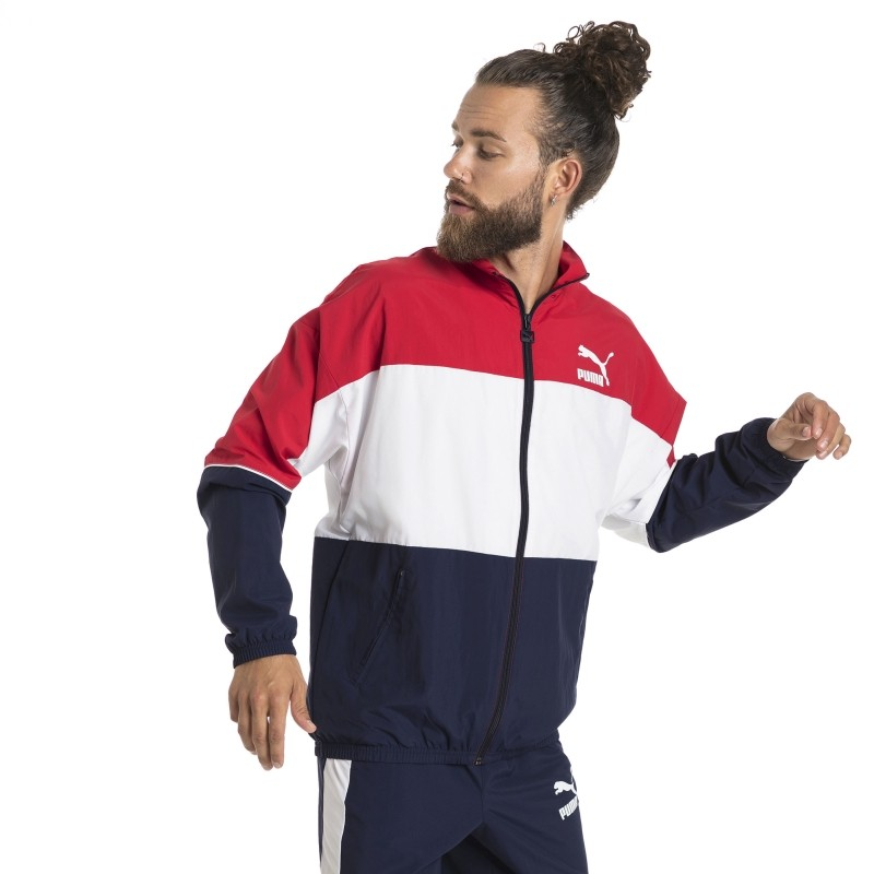 Puma Retro Woven Track Jacket - Jumpers