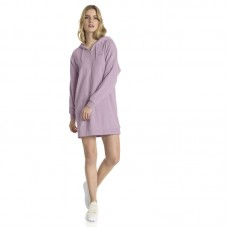Puma Wmns Downtown Long Sleeve Hooded Dress - Dresses