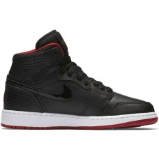 Air Jordan 1 Retro High GS Black Gym Red White - Casual Shoes