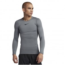 Nike Pro Warm Compression Longsleeve Crew - T-Shirts