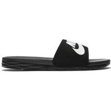 Nike SB Benassi Solarsoft Black White - Slippers