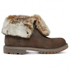 Timberland Wmns Authentics Faux Fur Fold-Down - Winter Boots