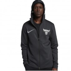 Nike NBA Chicago Bulls Therma Flex Showtime FZ Hoodie Jacket
