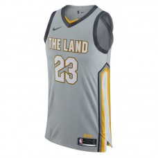 Nike NBA Cleveland Cavaliers LeBron James City Edition Authentic Jersey
