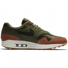 Nike Air Max 1 Olive Canvas Dark Russet - Nike Air Max shoes