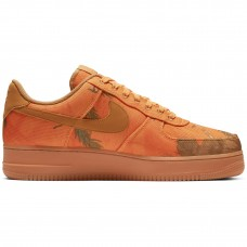 Nike Air Force 1 07 Lv8 Realtree Camp Orange Camo - Casual Shoes