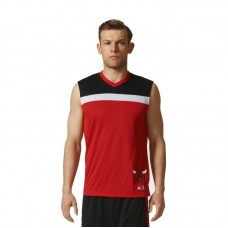 adidas NBA Chicago Bulls Winter Hoops Reversible Jersey