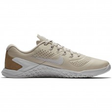 Nike Metcon 4 AMP Leather Desert Sand - Gym shoes