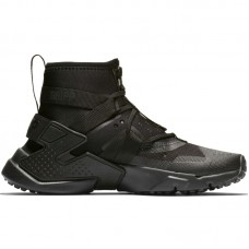 Nike Huarache Gripp Triple Black GS - Casual Shoes