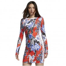 Nike Wmns Long Sleeve Printed Dress - Dresses