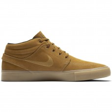 Nike SB Zoom Stefan Janoski Mid RM Wheat Light Brown - Casual Shoes