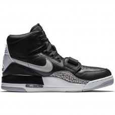 Air Jordan Legacy 312 Black White Black Cement - Casual Shoes