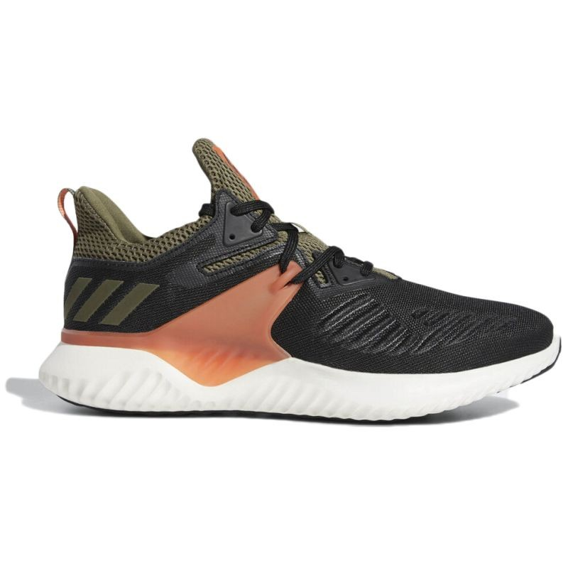 adidas Alphabounce Beyond Black Olive Orange - Running shoes
