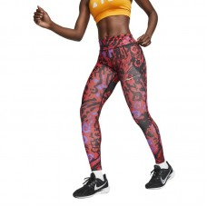 Nike Wmns Fast 7/8 Printed Running Tights - Tights