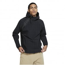 Nike Black Polyamide Outerwear Jacket - Jackets