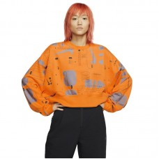 Nike Wmns Air Printed Fleece Crew - Jumpers