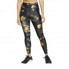 Nike Wmns Power Floral Training tamprės - Tights