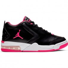 Air Jordan Big Fund GS Black Hyper Pink - Casual Shoes