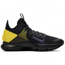 Nike LeBron Witness IV Black Voltage Purple - Basketball shoes