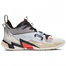 Air Jordan Why Not Zer0.3 Russell Westbrook White Bright Crimson Black - Basketball shoes