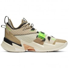 Jordan Why Not Zer0.3 Russell Westbrook Parachute Beige Rage Green - Basketball shoes