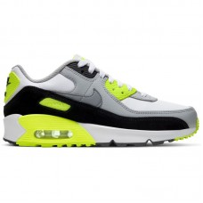 Nike Air Max 90 Leather GS Volt - Nike Air Max shoes