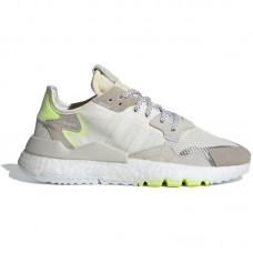 adidas Originals Wmns Nite Jogger Boost W Off White Hi Res Yellow - Casual Shoes