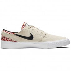Nike SB Zoom Janoski Low RM PRM Pale Ivory Mystic Red - Casual Shoes