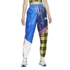 Nike Wmns Sportswear NSW Woven Plaid Pants - Pants