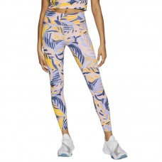 Nike Wmns One Printed Mid-Rise 7/8 tamprės - Tights