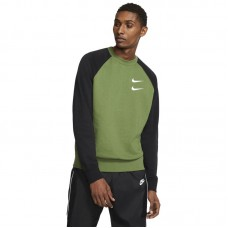 Nike Sportswear Swoosh French Terry Crewneck džemperis - T-Shirts