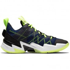Jordan Why Not Zer0.3 SE Russell Westbrook Blue Void Lime - Basketball shoes