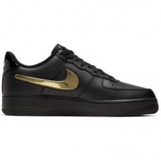 Nike Air Force 1 07' LV8 3 Black Removable Swoosh - Casual Shoes