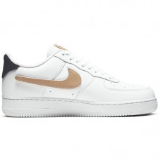 Nike Air Force 1 07' LV8 3 White Removable Swoosh - Casual Shoes