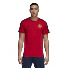 adidas Manchester United 3 Stripes Tee - T-Shirts
