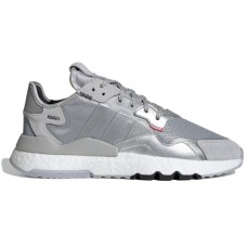 adidas Originals Nite Jogger Silver Met - Casual Shoes