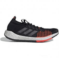 adidas Pulseboost HD Black Grey Red - Casual Shoes