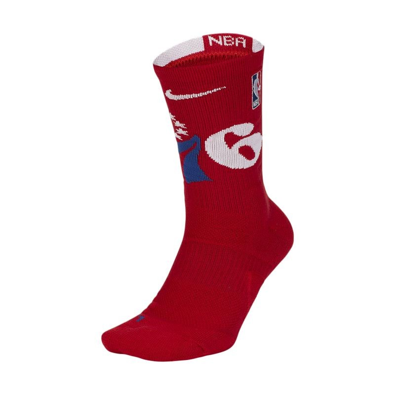 Nike NBA Philadelphia 76ers Elite Socks - Socks