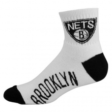 FBf NBA Brooklyn Nets Quarter Socks
